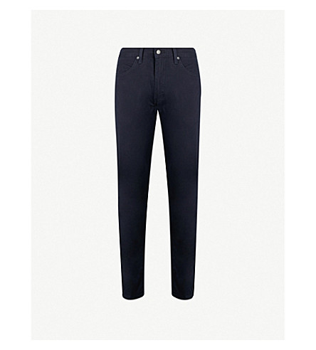 LEVI'S 511 slim-fit tapered jeans (Nightwatch+blue