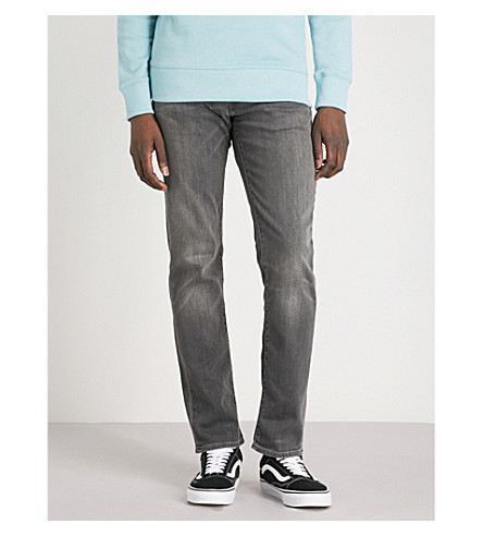 LEVI'S 511 slim-fit stretch-denim jeans (Headed east