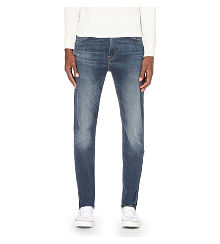 LEVI'S 510 skinny tapered jeans (Mid+blue