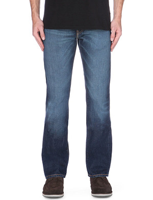 LEVI'S 527 slim-fit bootcut mid-rise jeans