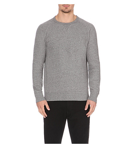 LEVI'S Raglan crew-neck sweatshirt (2373+medium+heather+grey