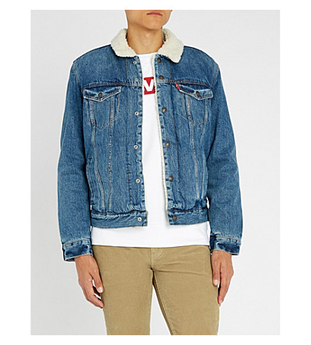 LEVI'S Sherpa Trucker denim jacket (Needle+park