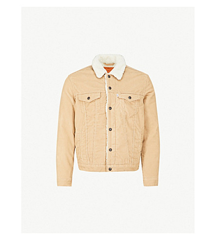 LEVI'S Type III Sherpa Trucker corduroy jacket (True chino cord better