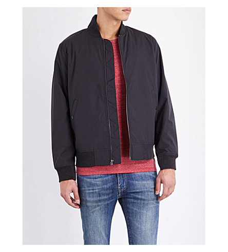 LEVI'S Thermore shell bomber jacket (Black