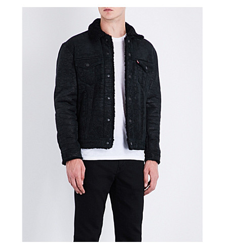LEVI'S The Shearling Trucker shearling jacket (Shearling