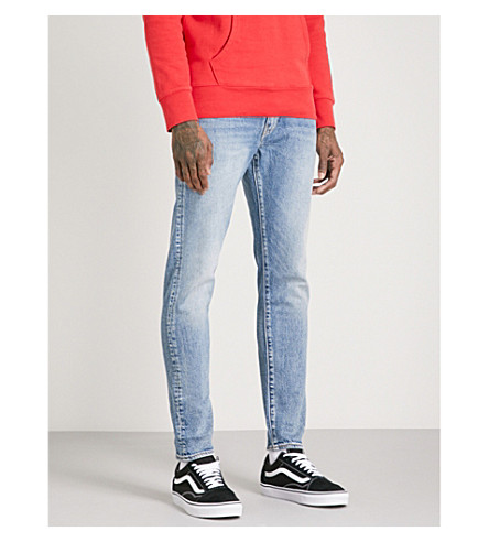 LEVI'S 512 slim-fit tapered jeans (Rolf+warp+str