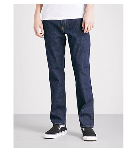 LEVI'S 502 regular-fit tapered jeans (Chain+rinse