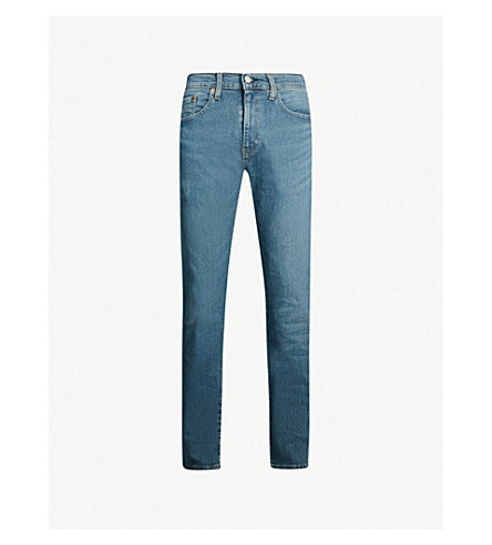 LEVI'S 502 regular-fit tapered jeans (Green beer adv