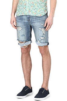 LEVI'S 508 ripped denim shorts