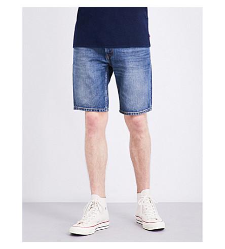 LEVI'S 502 regular-fit tapered denim shorts (Easy+short