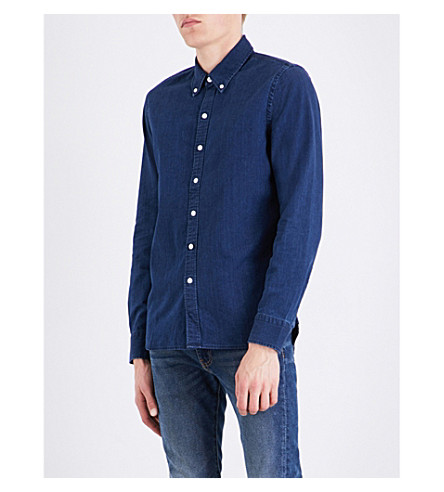 LEVI'S Pacific regular-fit denim shirt (Lt+wghtblack+stone