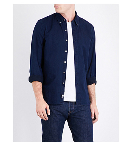LEVI'S Pacific regular-fit denim shirt (Lt+wght+black+rinse