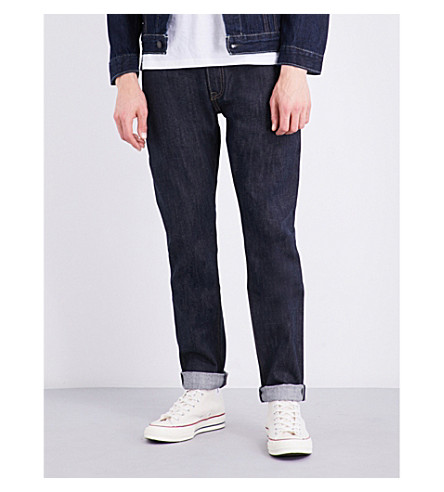 LEVI'S 501 slim-fit skinny jeans (Long+day+rigid