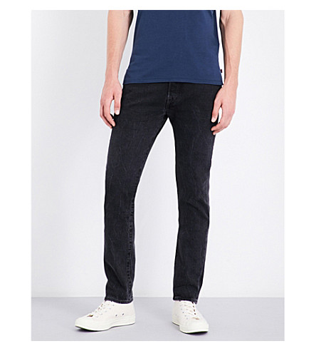 LEVI'S 501 slim-fit skinny jeans (Side+by+side