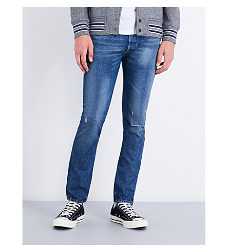 LEVI'S 501 slim-fit tapered jeans (Fizzy