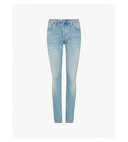 LEVI'S 501 slim-fit skinny jeans (West+coast+str