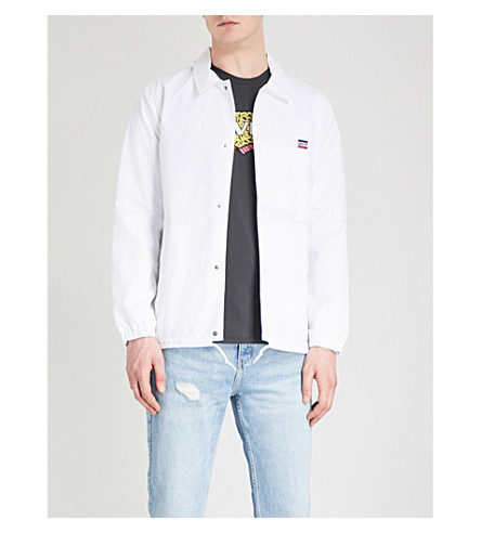 LEVI'S Coach's shell jacket (White