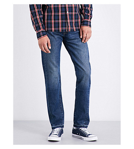 LEVI'S 511 slim-fit tapered jeans (Spliced+indigo