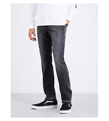 LEVI'S 511 slim-fit straight jeans (Spliced+black