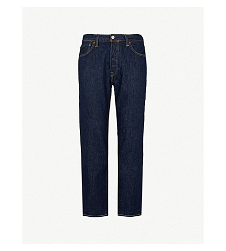 LEVI'S 501 Original regular-fit straight jeans (Indigo