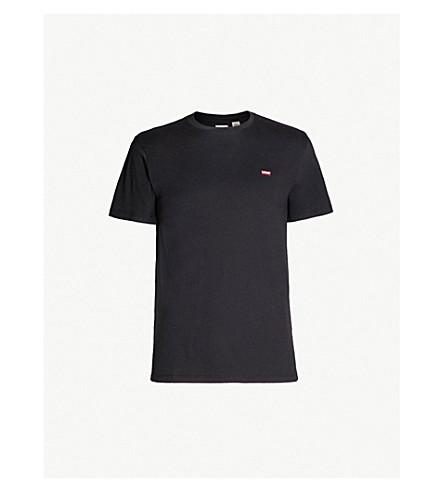 LEVI'S Original branded cotton-jersey T-shirt (Patch black