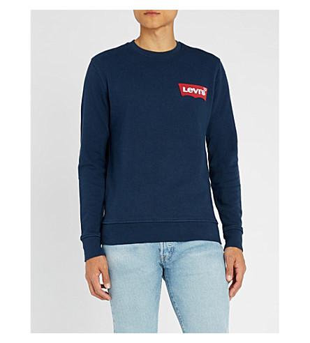 LEVI'S Modern cotton-blend sweatshirt (Dress+blues