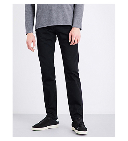 LEVIS MADE & CRAFTED Needle Narrow slim-fit tapered jeans (Black+rinse+xx