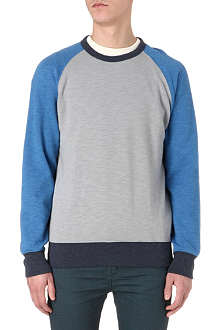 LEVI'S Colorblocked raglan sweatshirt
