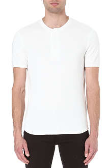 LEVI'S Textured cotton t-shirt
