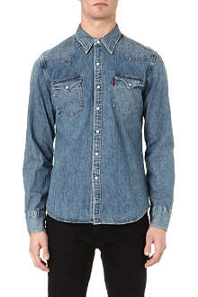 LEVI'S Stonewash denim shirt