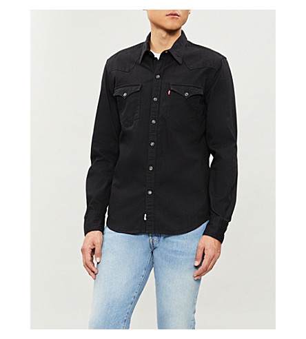 LEVI'S Barstow Western denim shirt (Black