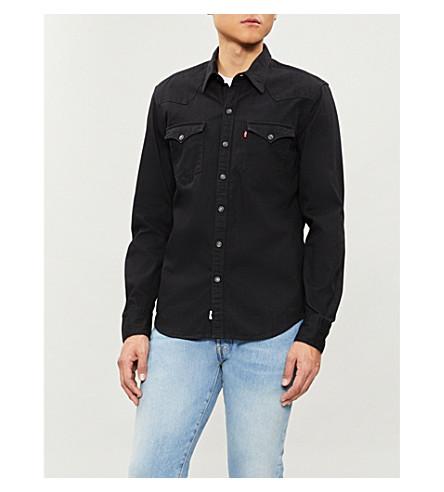 LEVI'S Barstow Western denim shirt (Black