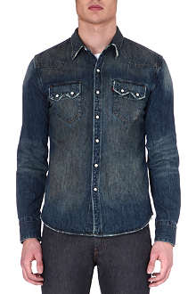 LEVIS VINTAGE Tinted denim shirt