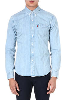 LEVI'S One-pocket denim shirt