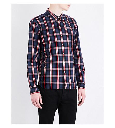 LEVI'S Sunset regular-fit western shirt (Aspen+dress+blues