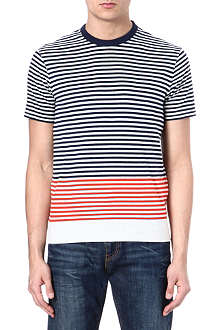 LEVI'S Striped cotton t-shirt