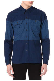 LEVI'S Block denim shirt