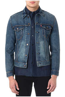 LEVI'S Slim-fit Trucker denim jacket