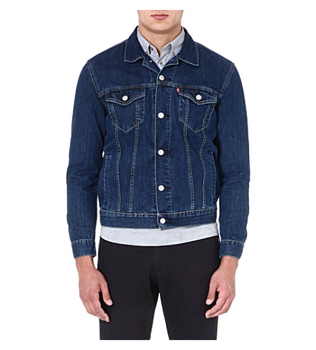 LEVI'S Slim-fit Trucker denim jacket (Blue