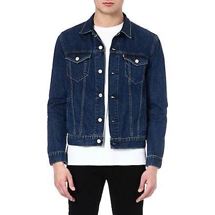 LEVI'S Slim-fit Trucker denim jacket (Stonewash