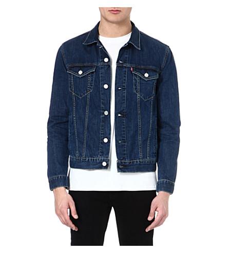 LEVI'S Slim-fit Trucker denim jacket (Stonewash