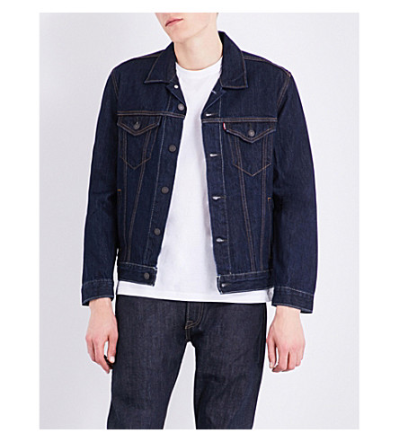 LEVI'S Trucker denim jacket (Rinse+trucker