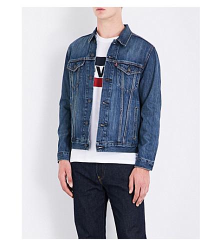 LEVI'S Trucker denim jacket (The+shelf
