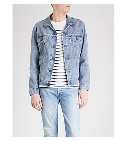 LEVI'S The Trucker denim jacket (Icy