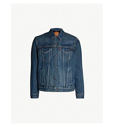 LEVI'S Flannel-lined denim trucker jacket (Chewy