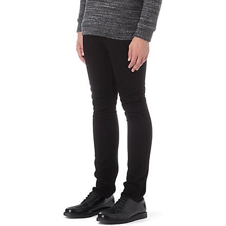 LEVI'S Line 8 510 3D slim-fit skinny jeans (Black / black 3d