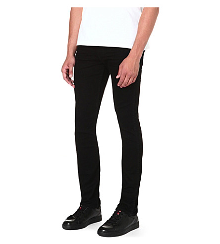LEVI'S Line 8 510 3D slim-fit skinny jeans (Black