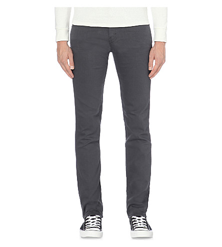 LEVI'S 511 slim-fit straight jeans (Grey/black 3d