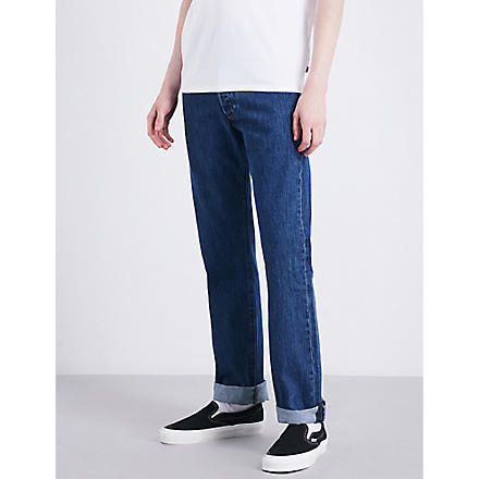 LEVI'S 501 Original regular-fit straight jeans (Stonewash