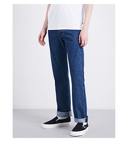 LEVI'S 501 Original regular-fit straight jeans (Stonewash